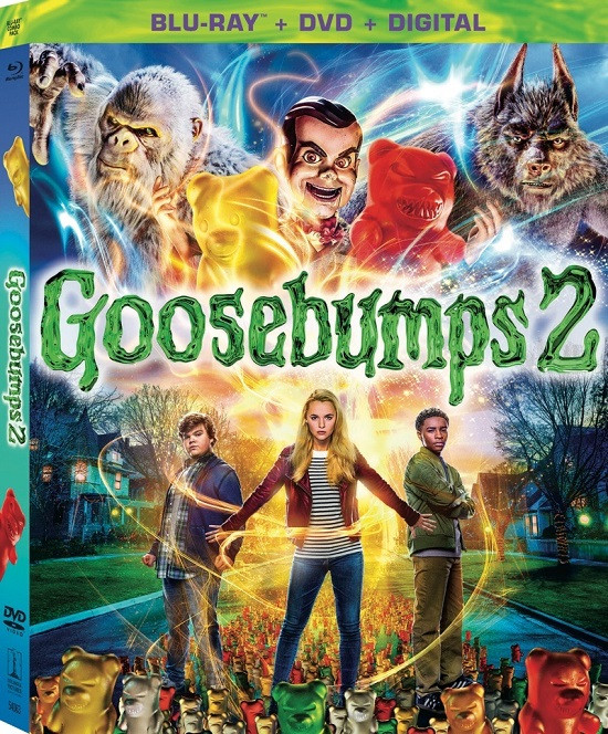 Goosebumps 2: Haunted Halloween (2018) Dual Audio Hindi 720p BluRay