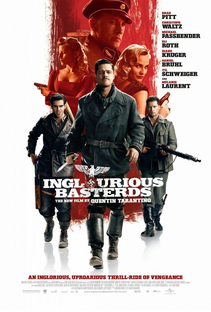 Inglourious Basterds (2009) Dual Audio Hindi 400MB BluRay 480p x264