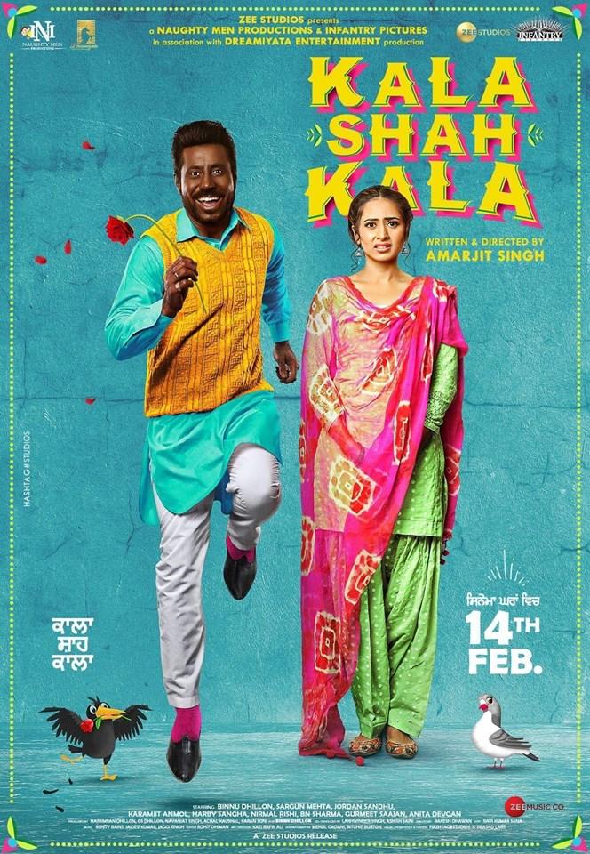 Kala Shah Kala 2019 Punjabi 350MB Pre-DVDRip 480p x264