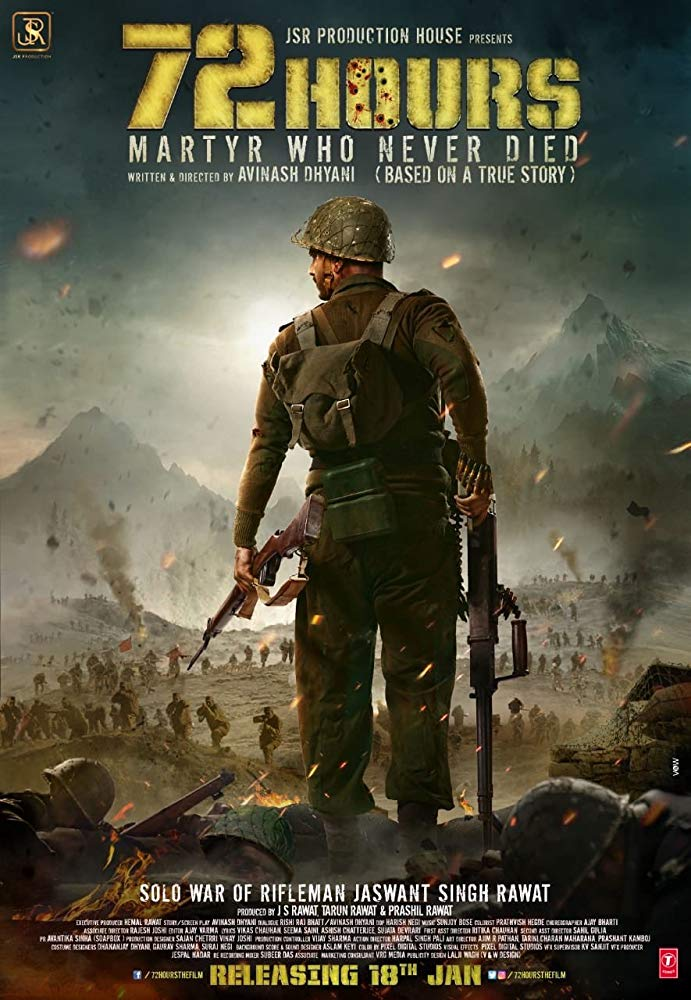 72 Hours Martyr Who Never Died 2019 Hindi 720p HDTVRip x264 1GB