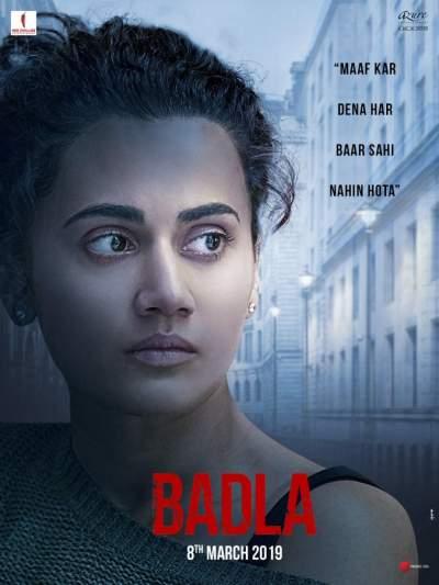 Badla (2019) Hindi 300MB Pre- DVDRip 480p x264