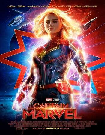 Captain Marvel 2019 Dual Audio Hindi 400MB HDCAM 480p x264