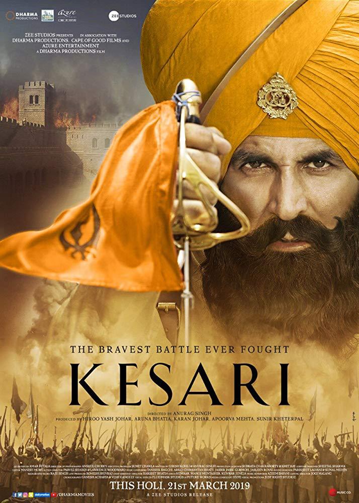 Kesari 2019 Hindi 350MB DVDScr 480p x264