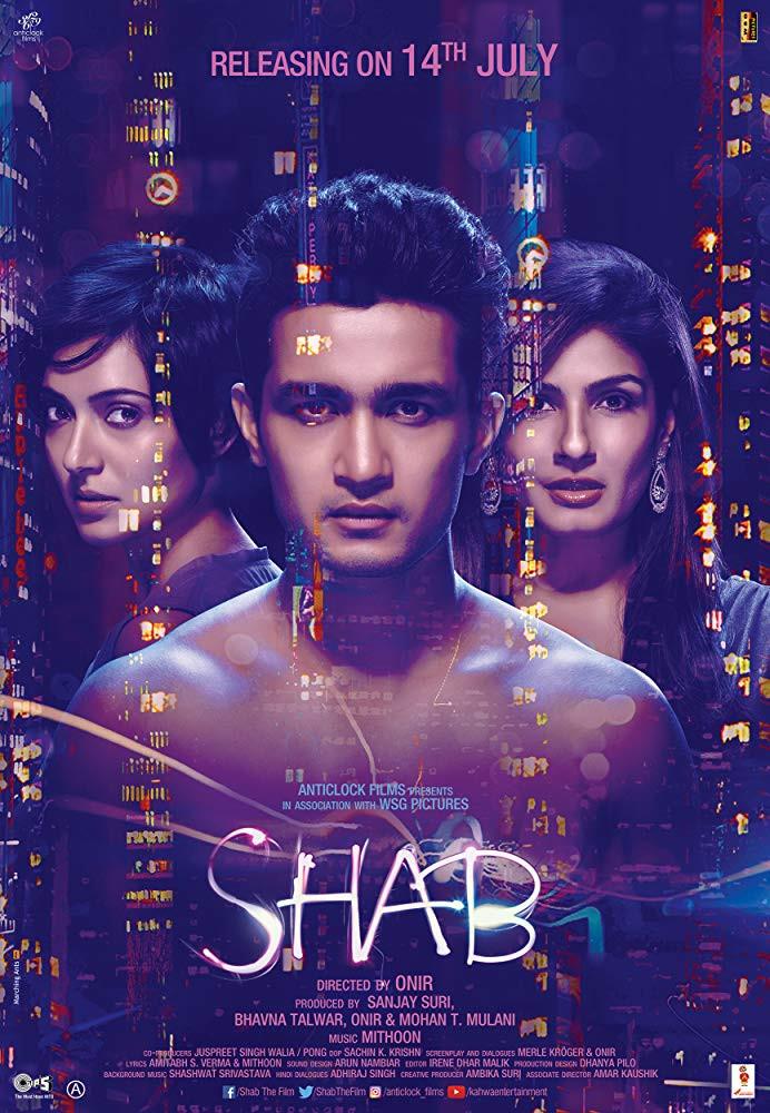 Shab (2017) Hindi Movie 350MB WEB-DL 480p x264