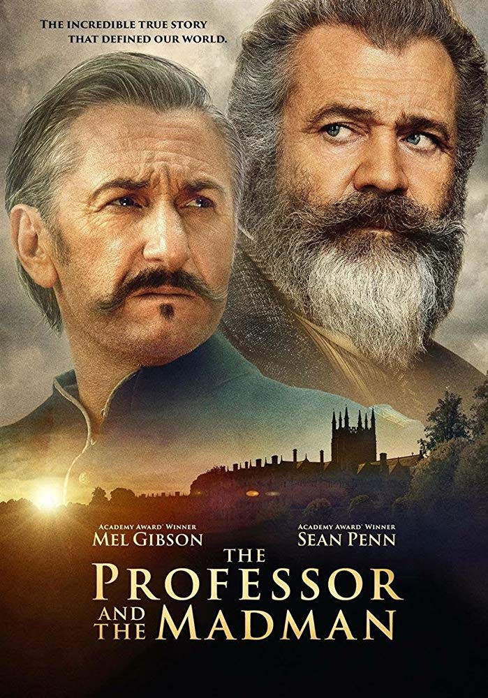 The Professor and the Madman (2019) English 400MB HDRip 480p x264