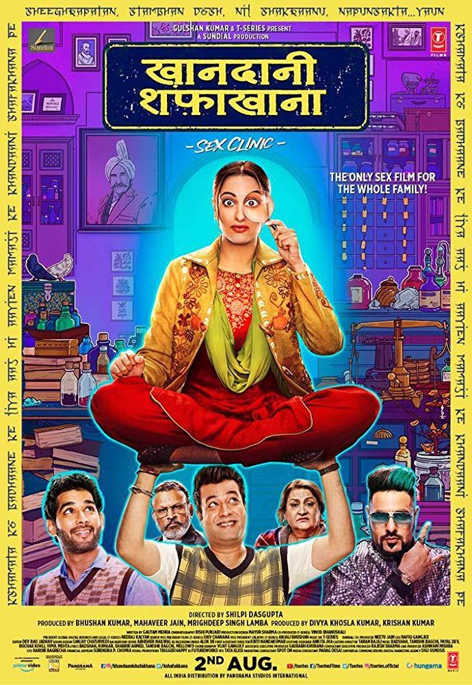 Khandaani Shafakhana 2019 Hindi 350MB Pre-DVDRip 480p
