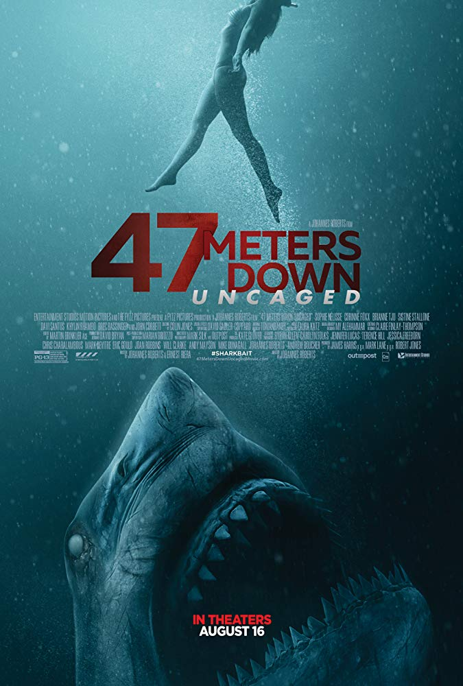 47 Meters Down: Uncaged 2019 English 260MB HDCAM 480p