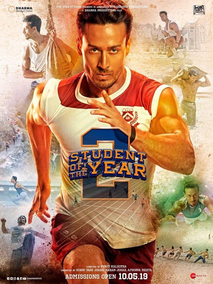 Student Of The Year 2 (2019) Hindi Movie 720p HDRip 1.2GB ESubs