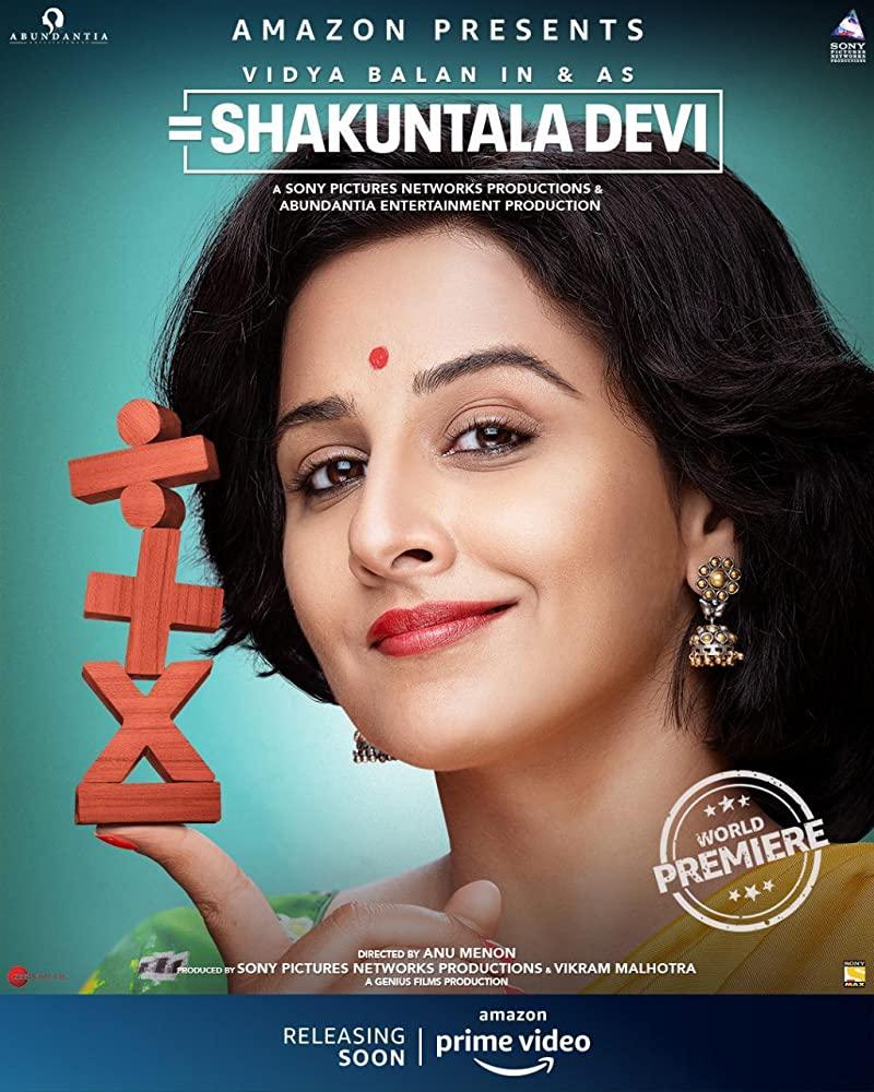 Shakuntala Devi 2020 Hindi 400MB HDRip 480p ESubs