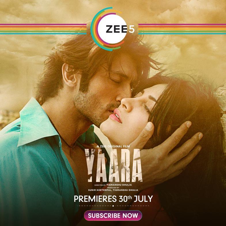 Yaara (2020) Hindi Movie 350MB WEB-DL 480p