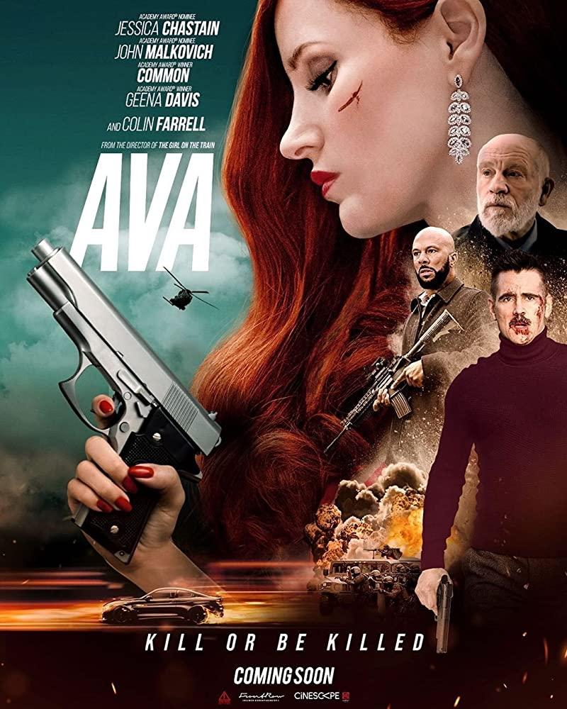 Ava 2020 English 720p HDCAM 800MB