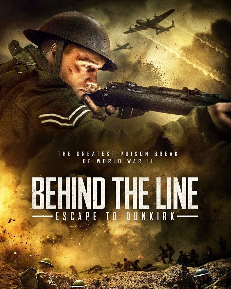 Behind the Line: Escape to Dunkirk (2020) Dual Audio Hindi 300MB WEBRip 480p