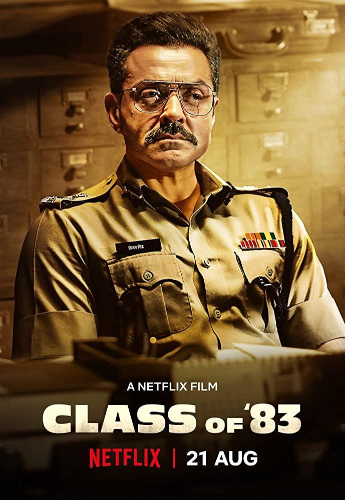 Class of 83 (2020) Hindi Movie 720p HDRip1.2GB ESubs Download