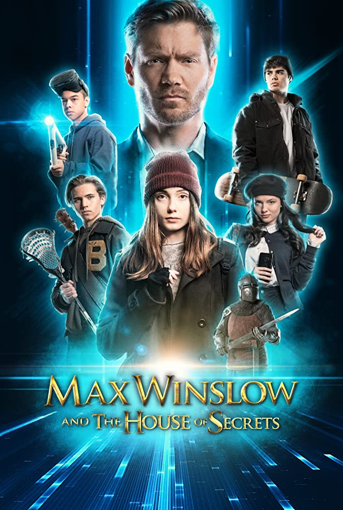 Max Winslow and the House of Secrets 2020 English 300MB HDRip 480p ESubs Download