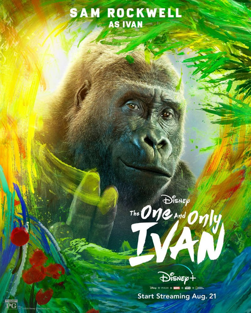 The One and Only Ivan 2020 English 300MB HDRip 480p ESubs Download