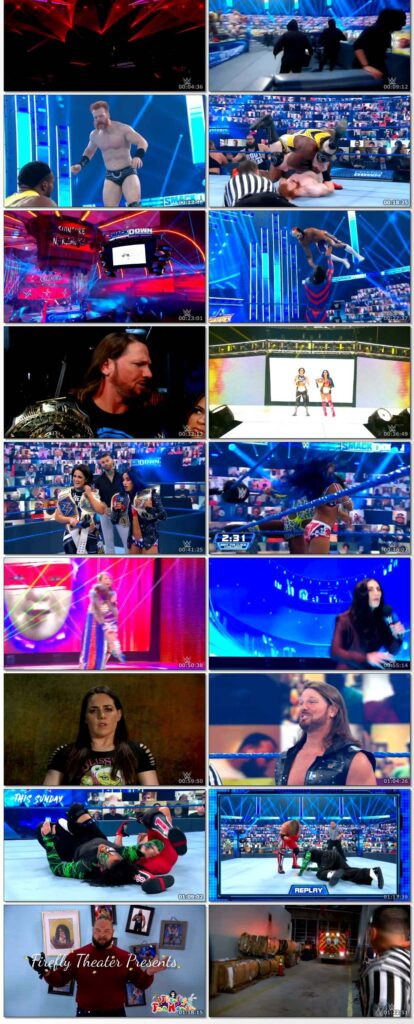 WWE Friday Night Smackdown (21th August 2020) English 250MB HDRip