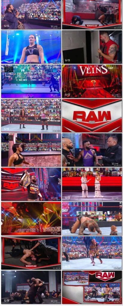 WWE Monday Night Raw (24 August 2020) English 720p HDTV